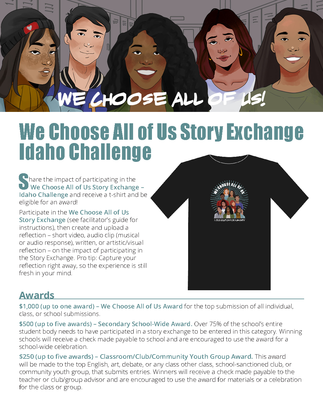 Story Exchange Idaho Challenge Guidelines and Rules