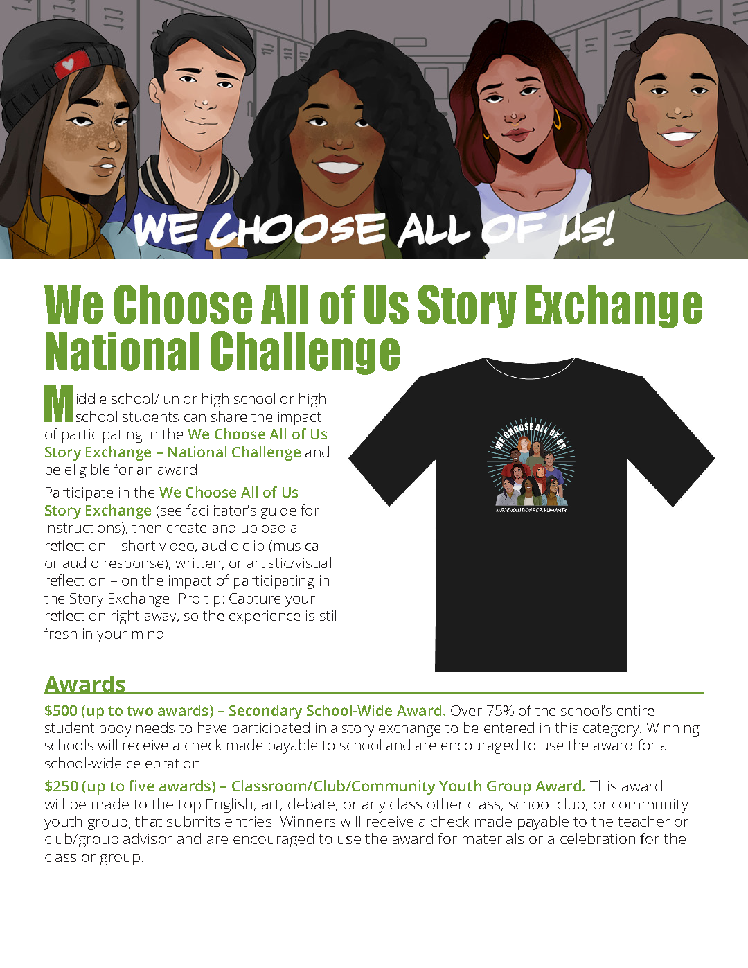 Story Exchange National Challenge Guidelines and Rules